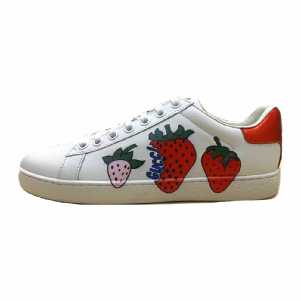 Strawberry Print Ace Sneakers