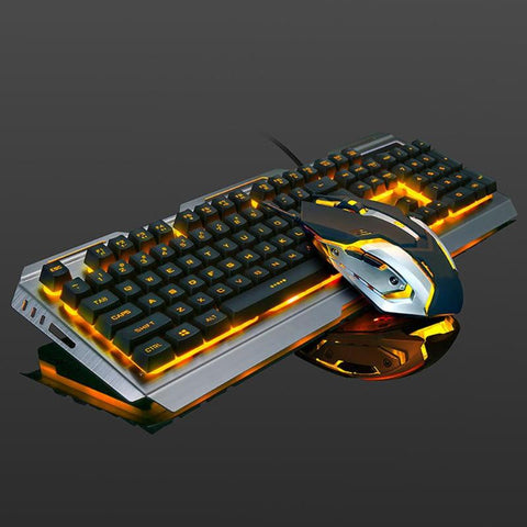 Fire Fight Backlit Keyboard & Mouse