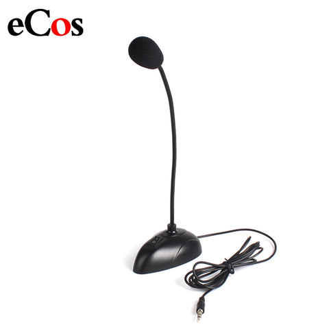 Flexible Stand Mini Studio Microphone 3.5mm