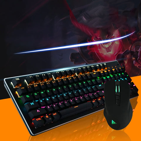 The Creator Backlit Keyboard & Mouse