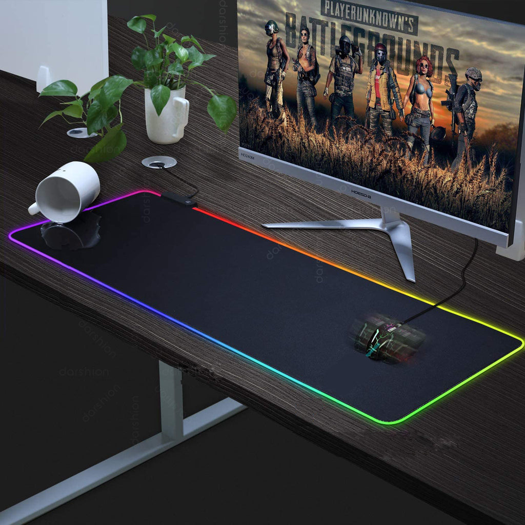 Extra Soft Luminous RGB Mouse Pad - AzraTec