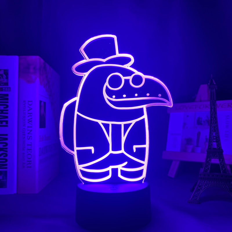 Among Us Color Changing Lamp - AzraTec