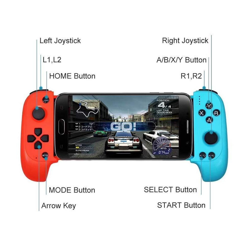 Saitake 7007X Wireless Phone Game Controller for Android  and  PC - AzraTec