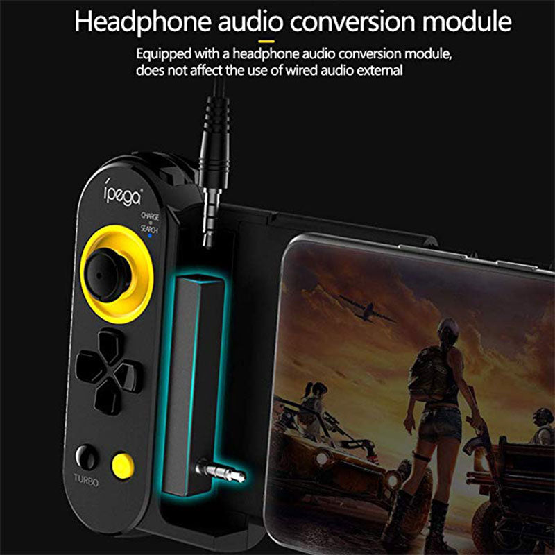 Retractable Wireless  Mobile Gamepad for Android / iOS - AzraTec
