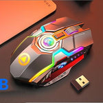 Wireless Gaming Mouse Rechargeable - AzraTec