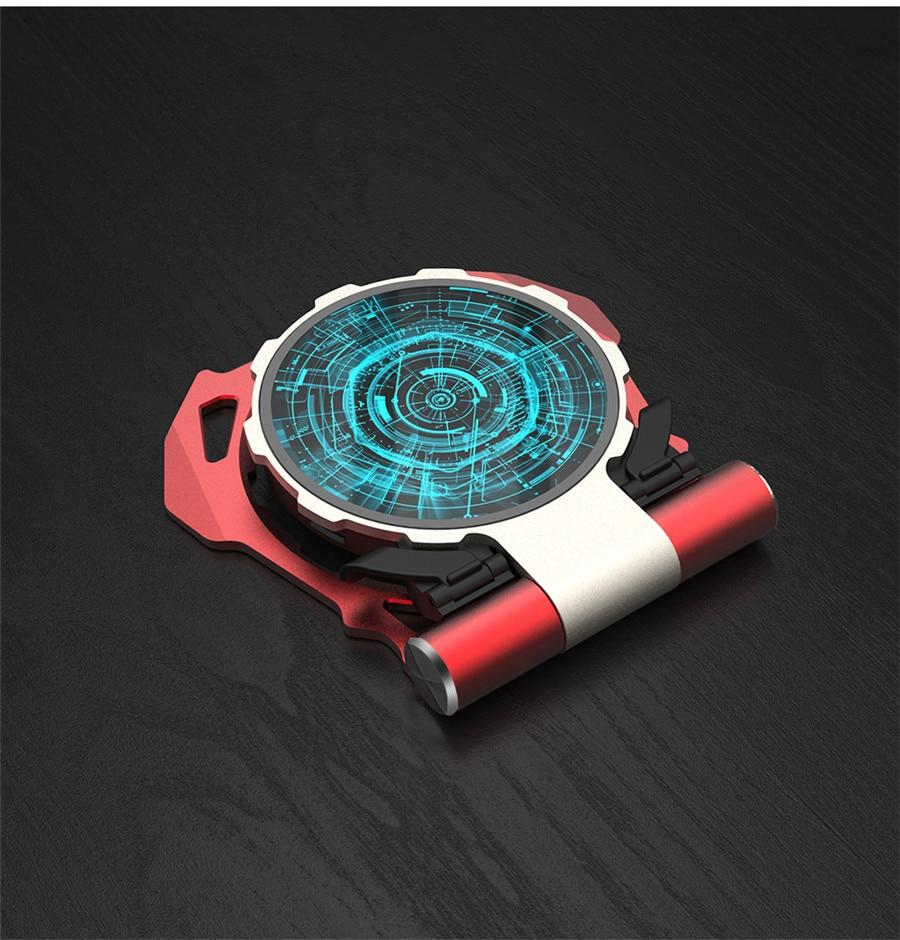 Arc Reactor  QI  Fast Charging Wireless Charger - AzraTec
