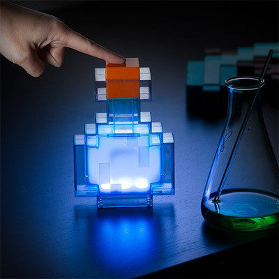 Minecraft  Miner's Colour Changing Potion BottleLED Lamp