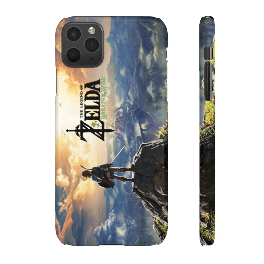 Legend of Zelda : Breathe of the Wild Snap Cases - AzraTec