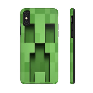 Creeper Minecraft  Tough Mate IPhone Case - AzraTec