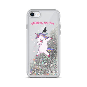 Unicorn Liquid Glitter IPhone Case - AzraTec