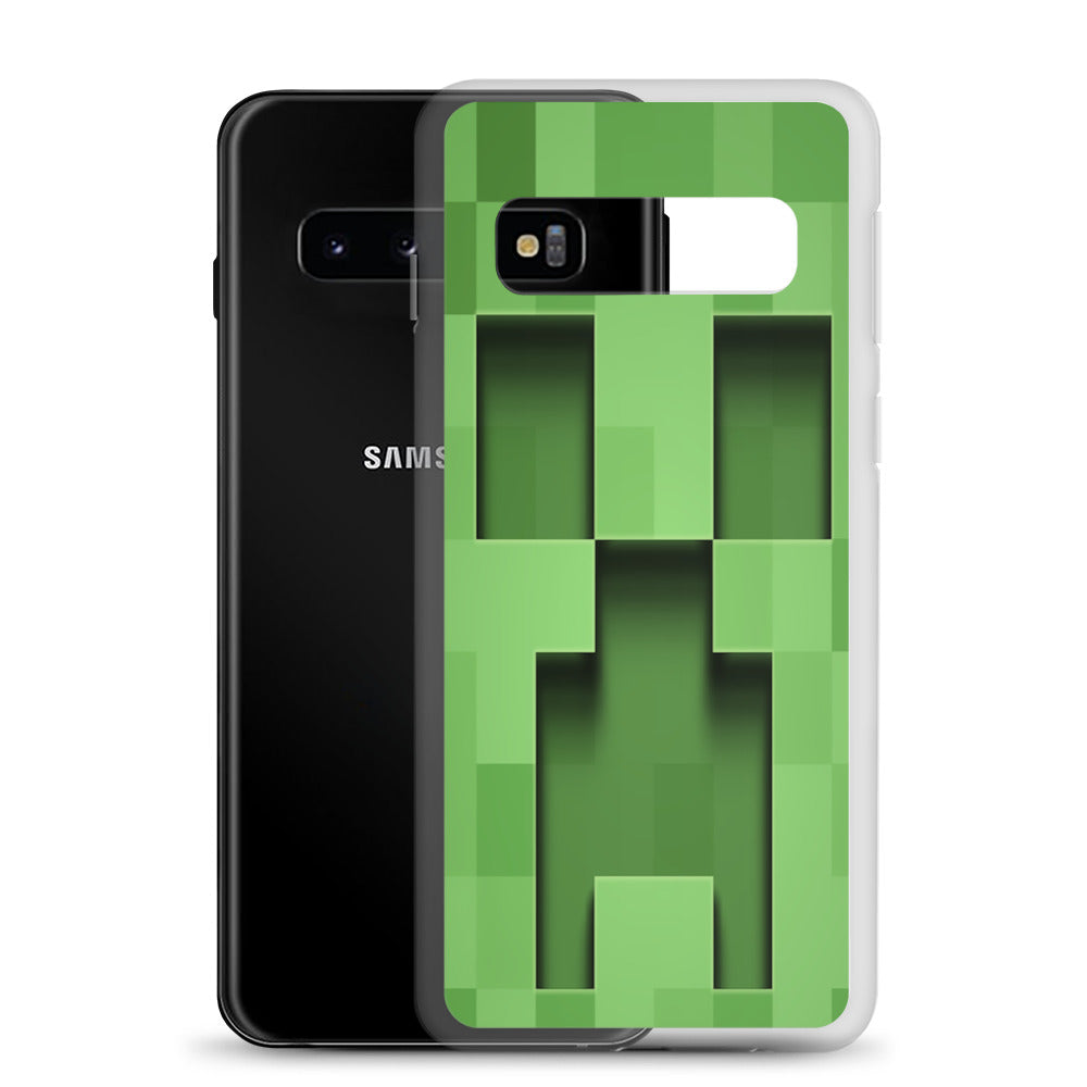 Minecraft Creeper Samsung Case - AzraTec