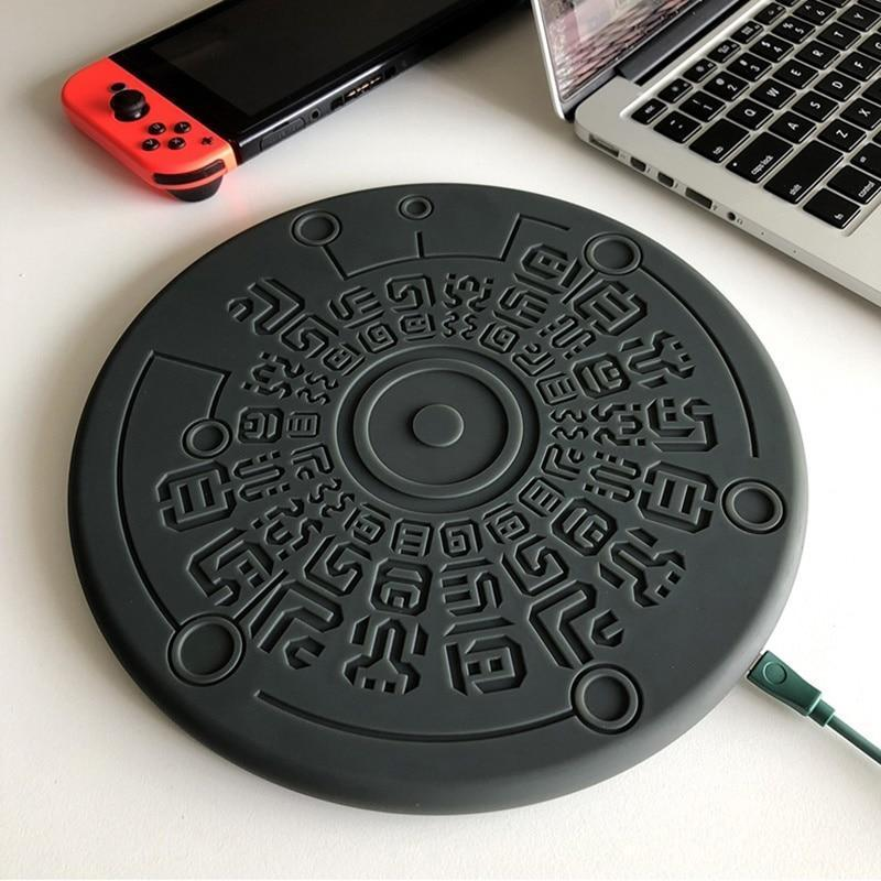 🧝Legend of Zelda Sheikah Runes 10W Qi Wireless Fast  Charger For Smartphones - AzraTec
