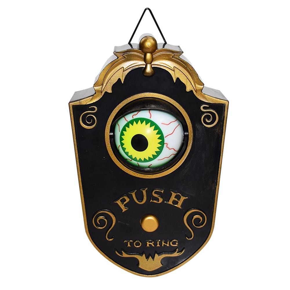 Novelty Creepy Eye Halloween Door Decorations - AzraTec