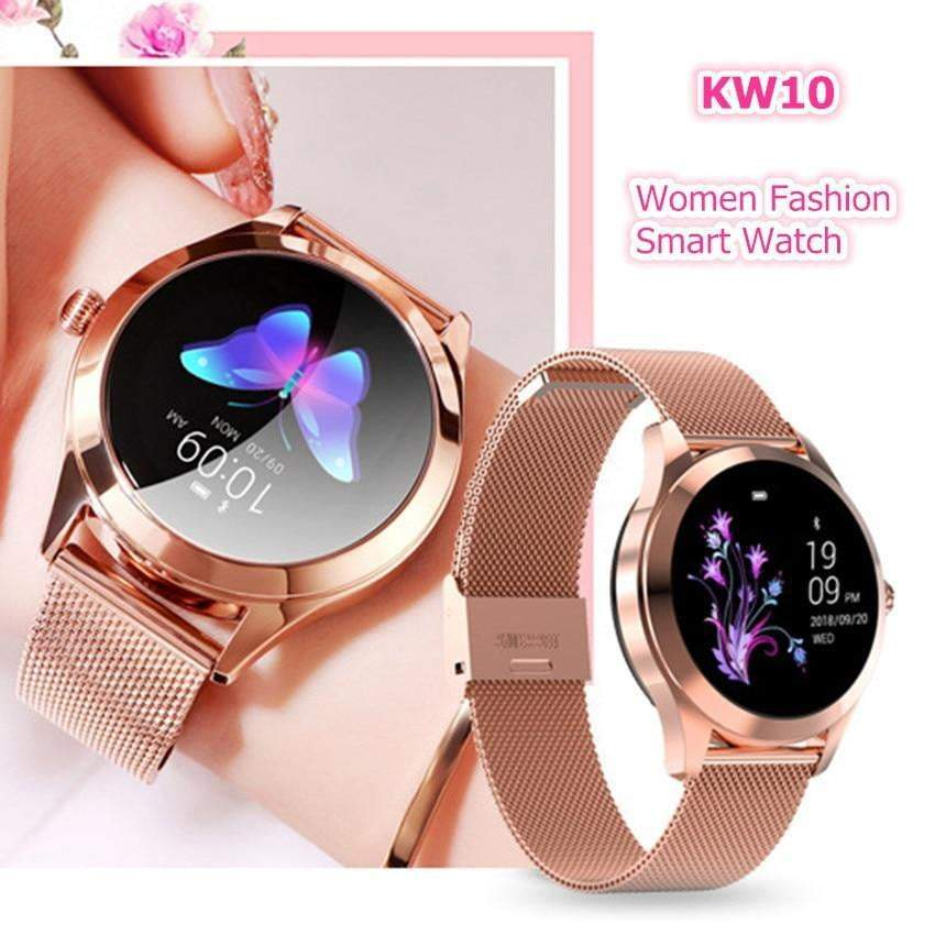 ASKMEER KW10 Smart Watch  IP68 Waterproof Sport Smartwatch for IOS Android - AzraTec