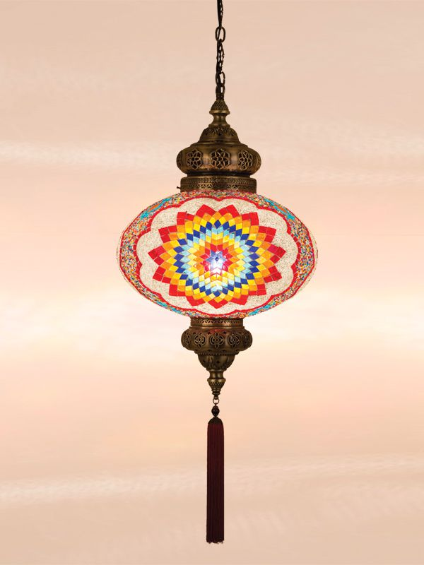 Mozaiek hanlamp k-844