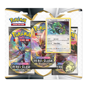 Pokemon Rebel Clash 3 Booster Blister - Rayquaza