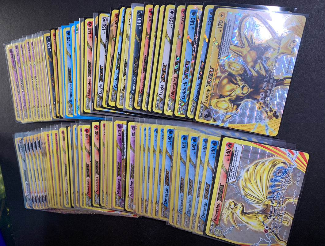 3 Assorted Rare Pokemon Break Cards