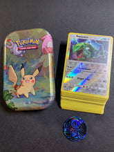 Load image into Gallery viewer, Pokemon Cards with Kanto Friends Tin & Coin