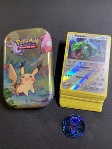 Pokemon Cards with Kanto Friends Tin & Coin