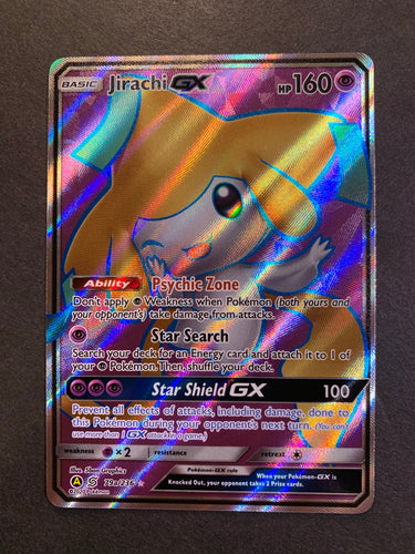 Jirachi - 79a/236 Full Art Ultra Rare Promo