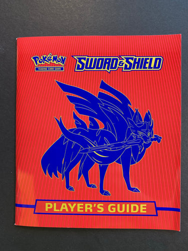 Pokemon Sword and Shield Player's Guide Book - Zacian