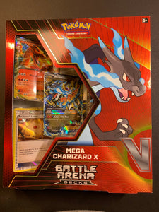 Pokemon Mega Charizard X EX Battle Arena Decks Box - Sealed