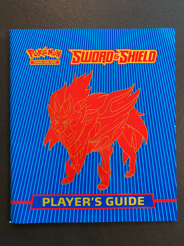 Pokemon Sword and Shield Player's Guide Book - Zamazenta