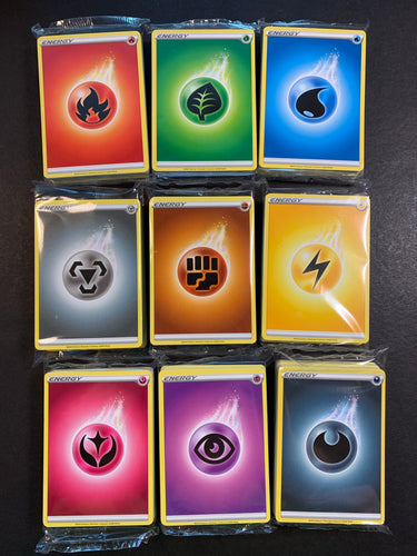 1x Sword & Shield Sealed Energy Pack - 45 Count - Elite Trainer Box NEW