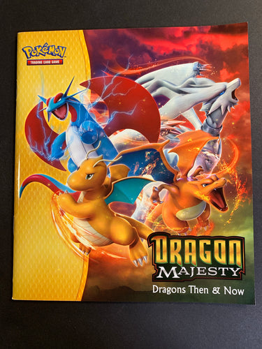 Pokemon Dragon Majesty Super Premium Collection: Dragons Then & Now Book