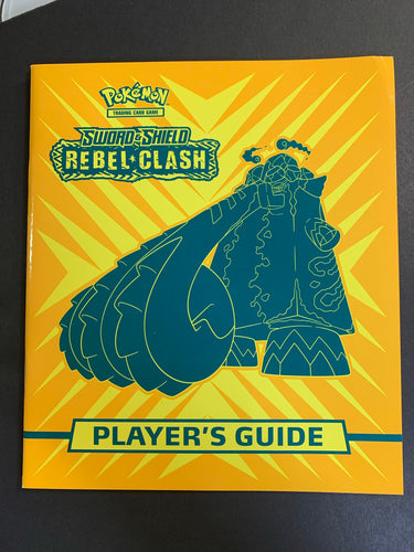 Pokemon Rebel Clash Player's Guide Book