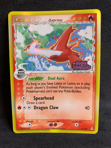 "Latias - 11/110 ""Stamped"" Reverse Holo Rare - Holon Phantoms"