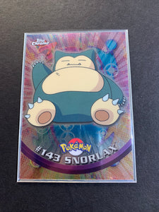 Snorlax #143 - Chrome Topps TV Animation Edition