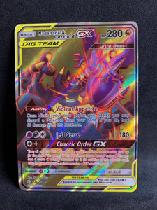 Naganadel & Guzzlord GX - 223/236 Full Art Ultra Rare - Cosmic Eclipse