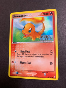 "Charmander - 48/100 ""Stamped"" Reverse Holo"