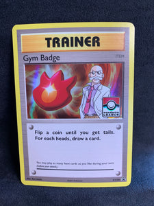 Gym Badge Blaine - XY209 League Promo