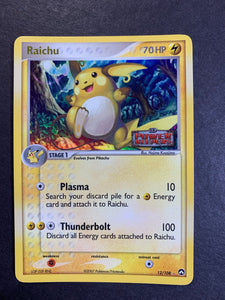 "Raichu - 12/108 ""Stamped"" Reverse Holo Rare - Power Keepers"