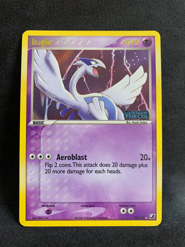 "Lugia - 29/115 ""Stamped"" Reverse Holo"