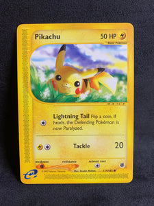 Pikachu - 124/165 Vintage Expedition