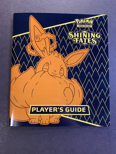 Pokemon Shining Fates Player's Guide Book - Eevee