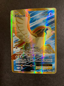 Pidgeot EX - 104/108 Full Art Ultra Rare - XY Evolutions Pokemon