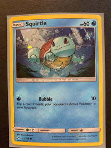 Blastoise GX - SM189 Full Art Ultra Rare Promo - Holo Squirtle & Wartortle