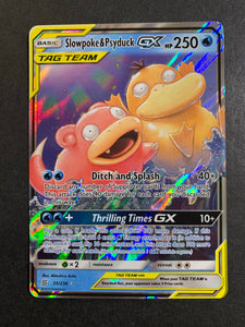 Slowpoke & Psyduck GX - 35/236 Ultra Rare Tag Team