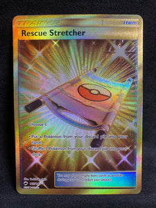 Rescue Stretcher - 165/147 Full Art Secret Rare Trainer