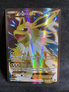 Jolteon EX - 28a/83 Full Art Ultra Rare Promo