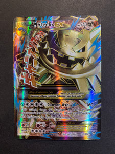 Mega M Steelix EX - 109/114 Full Art Ultra Rare