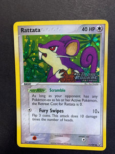 "Rattata - 71/109 ""Stamped"" Reverse Holo - Team Rocket Returns"