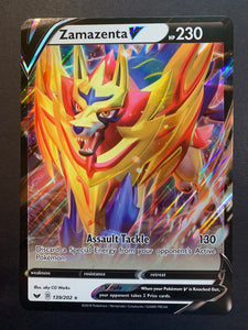 Jumbo Zamazenta V - 139/202 Ultra Rare Promo - Sword and Shield
