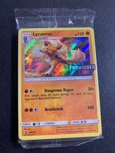 Load image into Gallery viewer, Lycanroc - SM118 Sealed Forbidden Light Prerelease Promo Pack