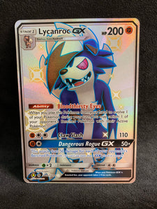 Lycanroc GX - SV66/SV94 Full Art Ultra Shiny - Hidden Fates