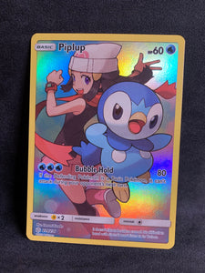 Piplup - 239/236 Full Art Secret Rare - Cosmic Eclipse